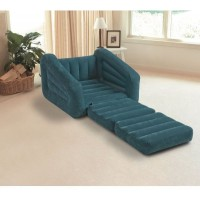 Intex Inflatable Pull-out Chair Convertible Into Air Mattress